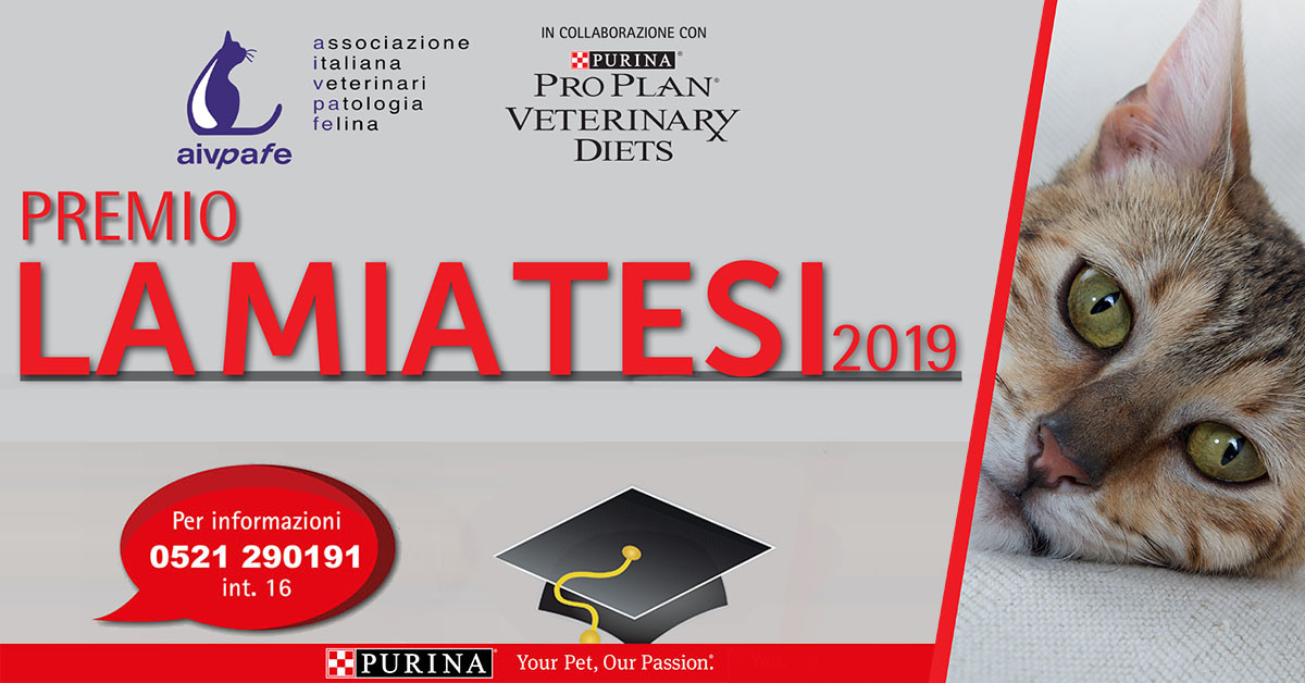 AIVPAFE - Premio La mia tesi 2019 social