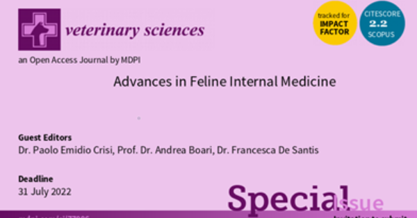 Advances in Feline Internal Medicine