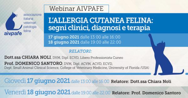 AIVPAFE - Webinar Dermatologia - 17-18 Giugno 2021 - banner